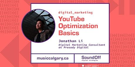 YouTube Optimization Basics with Prosody Digital tickets