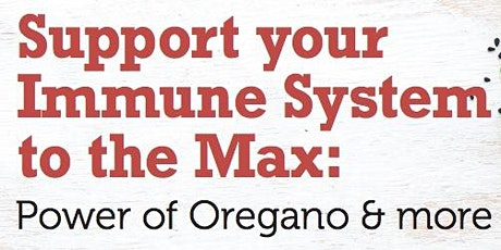 Support your Immune System to the Max with Dr. Cass Ingram tickets