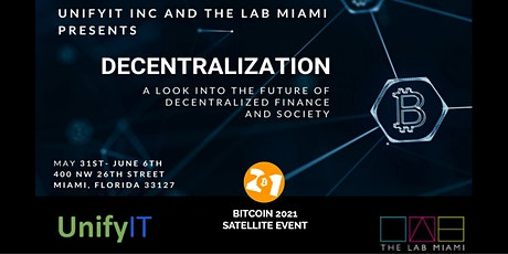 DECENTRALIZATION tickets