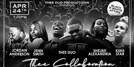 Thee collaboration: a black and white party tickets