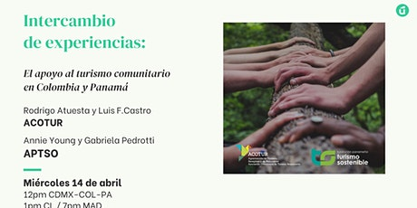 Intercambio de experiencias: El apoyo al T.Comunitario en Colombia y Panamá boletos