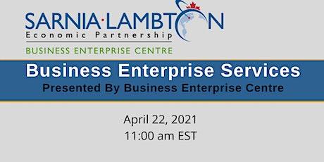 Business Enterprise Centre Services tickets