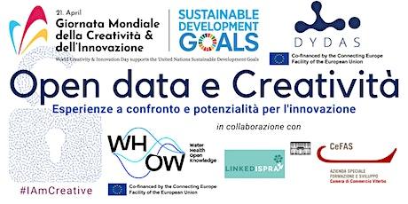 Open Data e Creatività. Esperienze e potenzialità per l'innovazione. entradas