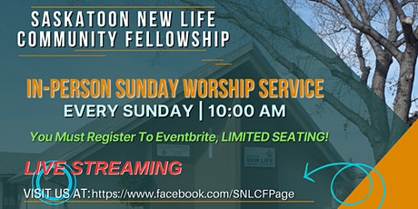 In-Person Sunday Worship Service tickets
