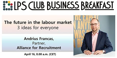 The future in the labour market - 3 ideas for everyone tickets