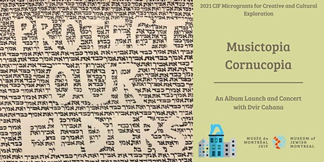 Musictopia Cornucopia: An Album Launch and Concert with Dvir Cahana tickets