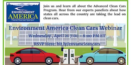 Environment America Clean Cars Webinar tickets