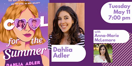 Book launch for Dahlia Adler for COOL FOR THE SUMMER tickets