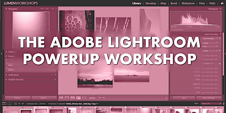 The Adobe Lightroom PowerUp Workshop tickets
