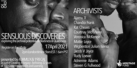 Sensuous Discoveries: Panel tickets