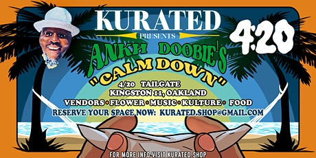 Kurated. Presents 4/20 Tailgate tickets