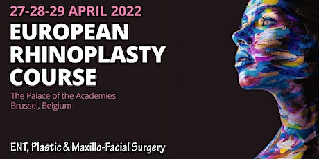 European Rhinoplasty Course 2022 billets