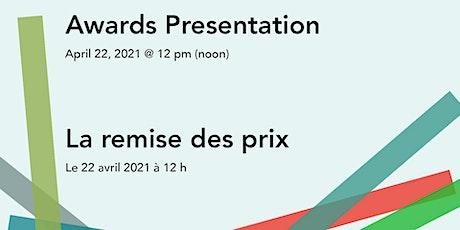 Arts Awards Presentation / La remise des prix des arts billets