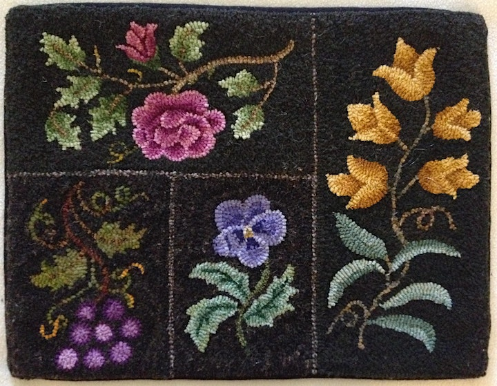 Techniques of Shading in Rug Hooking with Stephanie Allen-Krauss image