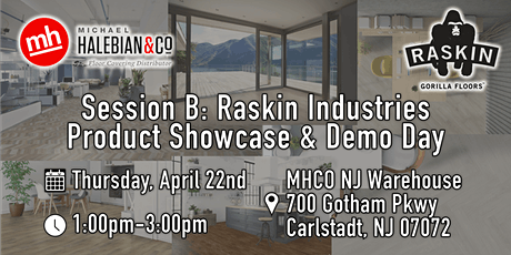 Session B: Raskin Industries Product Showcase & Demo Day (1pm-3pm) tickets