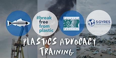 Plastics Advocacy Training tickets