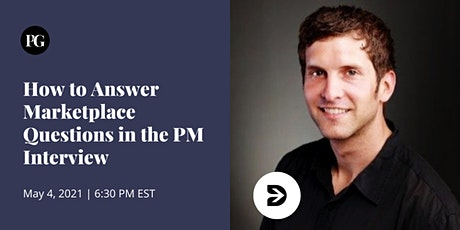 How to Answer Marketplace Questions in the PM Interview tickets