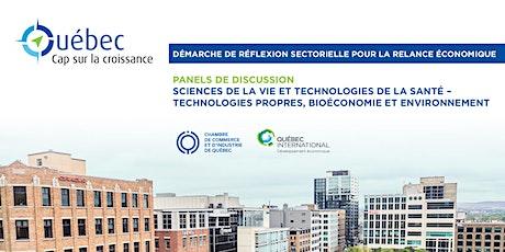 Québec : Cap sur la croissance – Panels d'échanges (SVTS/Environnement) billets