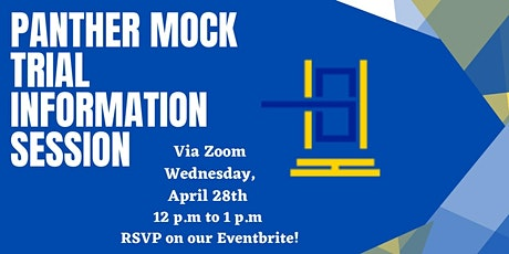 Panther Mock Trial Information Session tickets