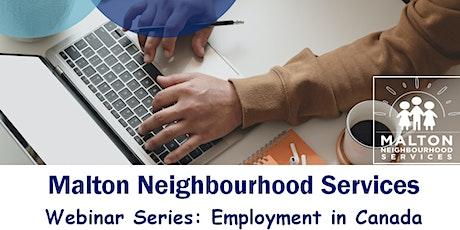 Webinar Series: Employment in Canada (Credit building in Canada) tickets
