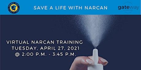 Virtual Narcan Training tickets