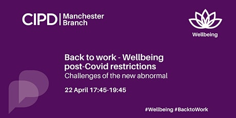 Back to work - Wellbeing and post-covid restrictions tickets