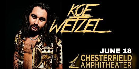 Koe Wetzel **SOLD OUT** tickets