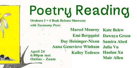 Oroboro Poetry Reading tickets
