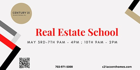 Real Estate School for May tickets