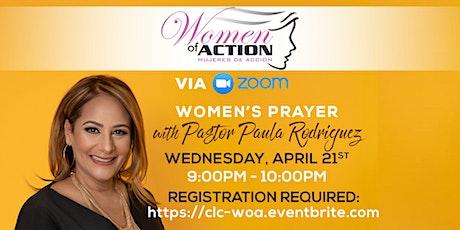 WOA: Women's Prayer | Oración de Mujeres boletos