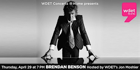 WDET Concerts at Home Series tickets
