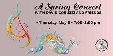 A Spring Concert with David Coruzzi and Friends tickets