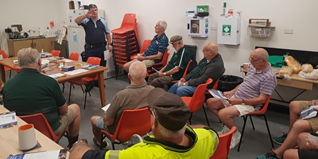 Men's Shed on show + BBQ tickets