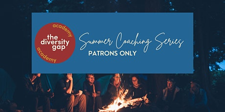 Patron Only Summer Coaching Series tickets