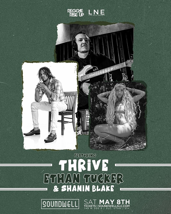 Thrive + Ethan Tucker + Shanin Blake  at Soundwell SLC image