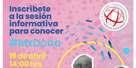 Conoce cómo participar en #MxDona de HipGive entradas