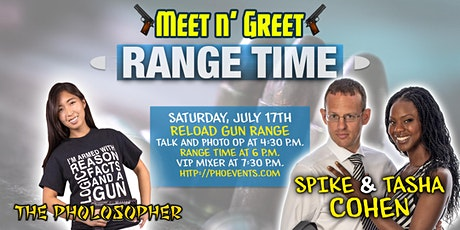 The Pholosopher and Spike Cohen Range Event tickets