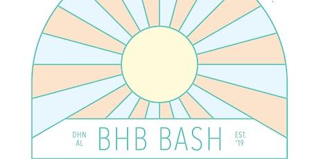BHB Bash 2021 tickets