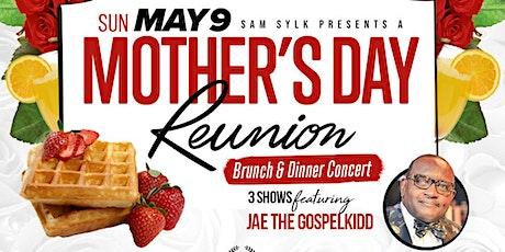 Sam Sylk presents A Mother's Day Reunion Brunch & Dinner Concert tickets