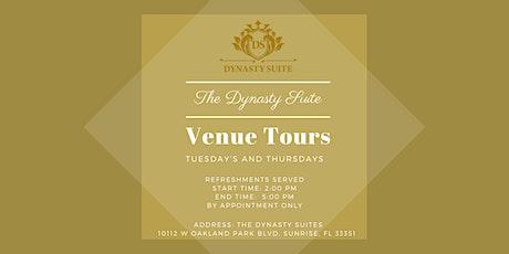 The Dynasty Suite Venue Tour tickets