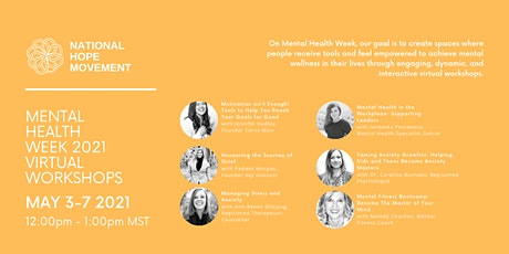 Mental Health Week Workshops tickets