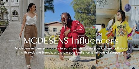 ModeSens Influencer Program Orientation tickets