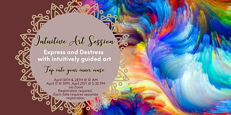 Intuitive Therapeutic Art Session tickets