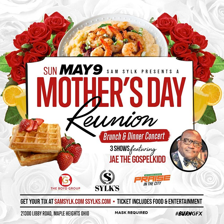 Sam Sylk presents A Mother's Day Reunion Brunch & Dinner Concert image
