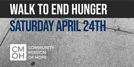 One step at a time- Walk to End Hunger tickets