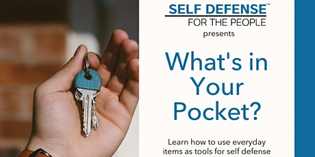 What's in your pocket? (Self Defense Workshop SF ) tickets