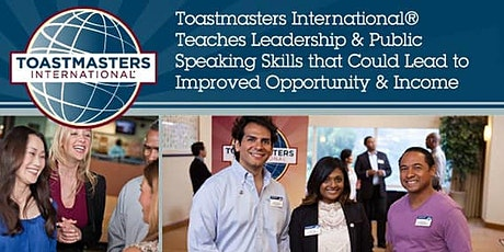 SAP Toastmasters Virtual Open House tickets
