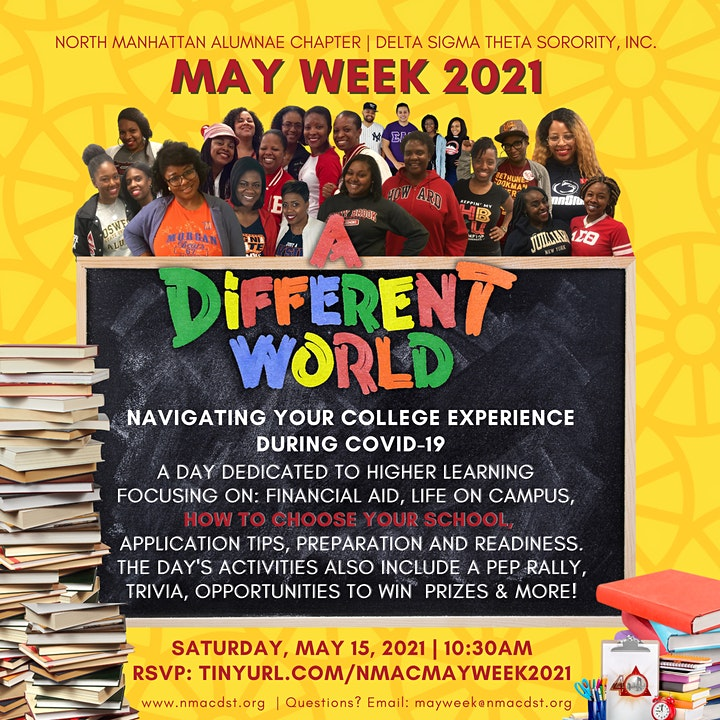 May Week 2021 College Prep Symposium: It's A Different World image