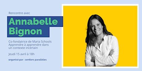 Rencontre avec Annabelle Bignon - Apprendre à apprendre billets