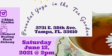 Prenatal Yoga in the Tea Garden tickets